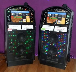 Digital Touchscreen Karaoke Jukeboxes